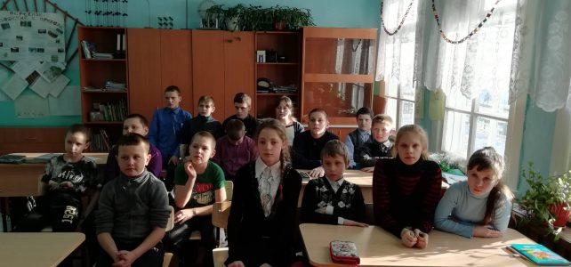 27.01.2020 года прошёл классный час посвящённый акции «Блокадный хлеб»